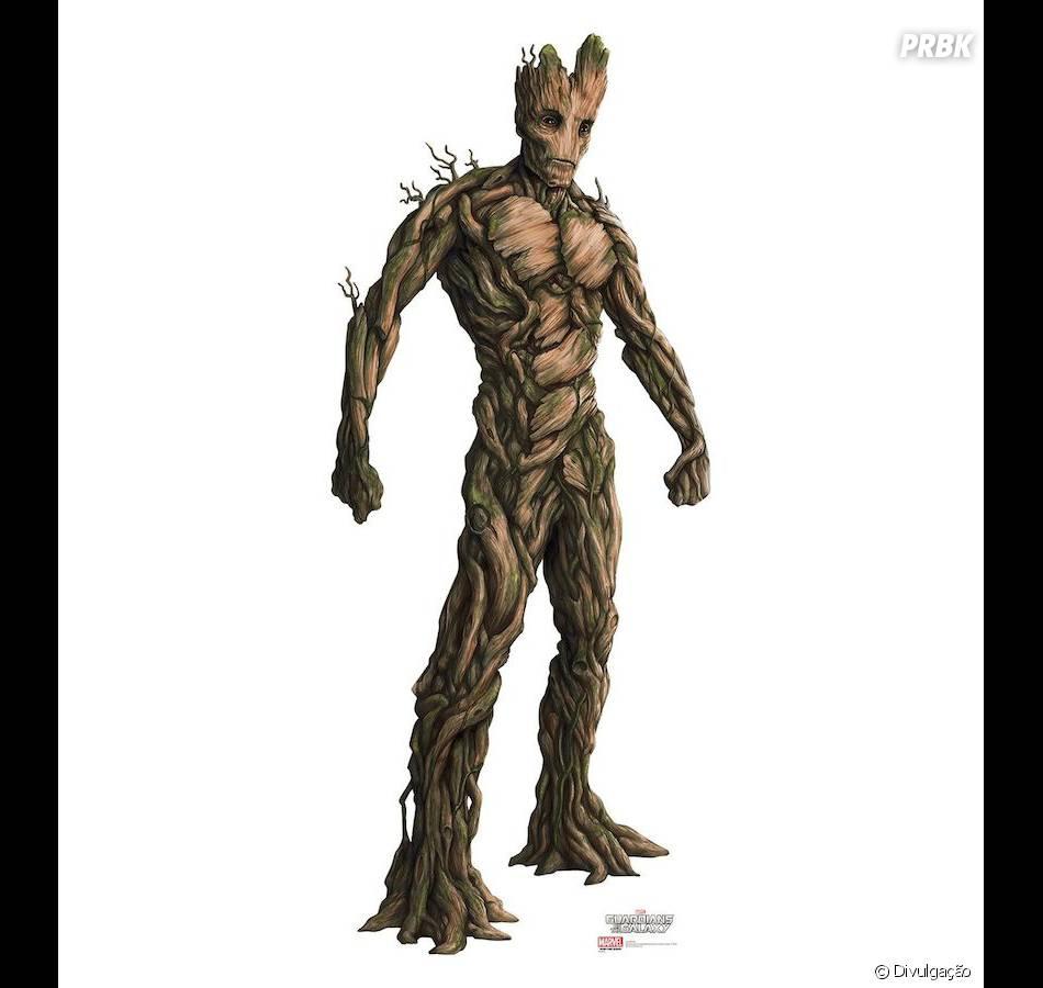 Imagem de Groot (Vin Diesel) em Guardiões da Galáxia... Felipe Gomez