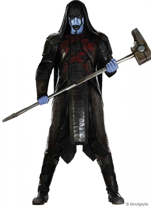 """Visual de Ronan, o Acusador em imagem de """"Guardiões da Galáxia"""""""