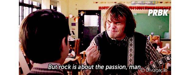 "Jack Black protagoniza o filme ""Escola de Rock"""