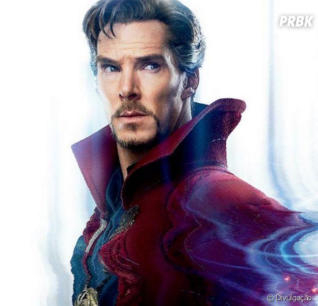 """De """"Vingadores: Guerra Infinita"""": Benedict Cumberbatch, o Doutor Estranho, começa a gravar suas cenas para o longa-metragem"""
