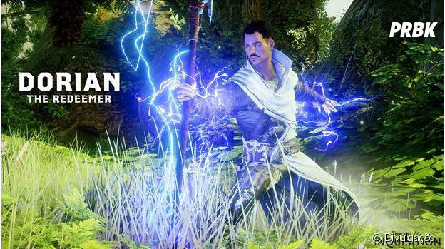 "Dorian o mago elemental de ""Dragon Age: Inquisition"""