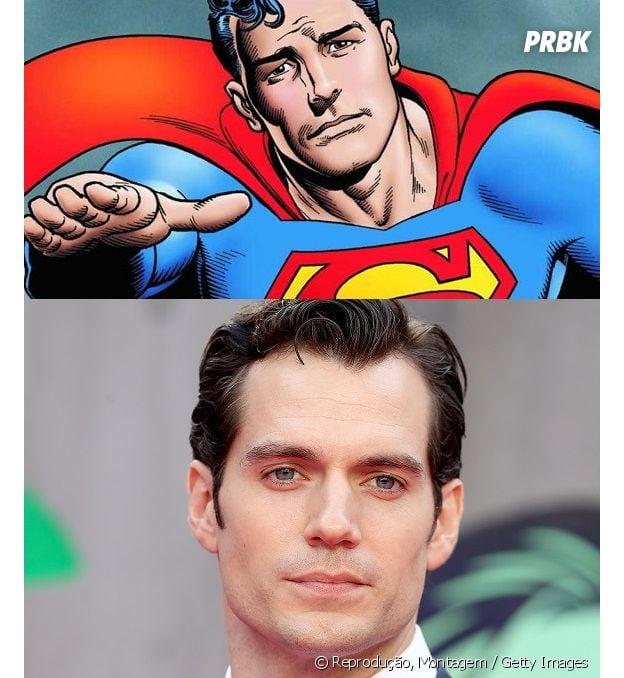 Superman e Henri Cavill têm idades diferentes!
