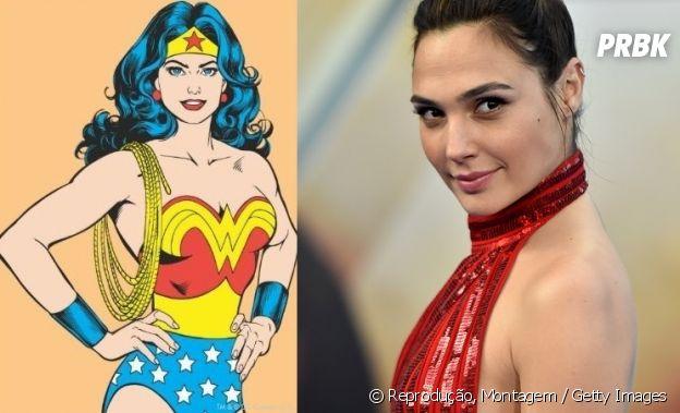 Mulher-Maravilha e Gal Galdot têm idades bem diferentes!