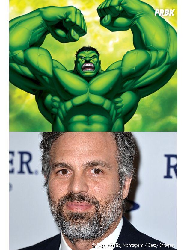 Idade de Mark Ruffalo ultrapassou a do Hulk!