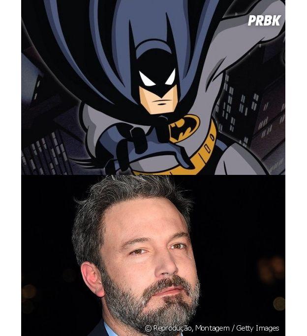 Batman e Ben Affleck têm idades diferentes
