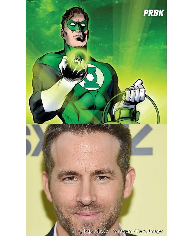 Lanterna Verde e Ryan Reynolds têm idades diferentes!