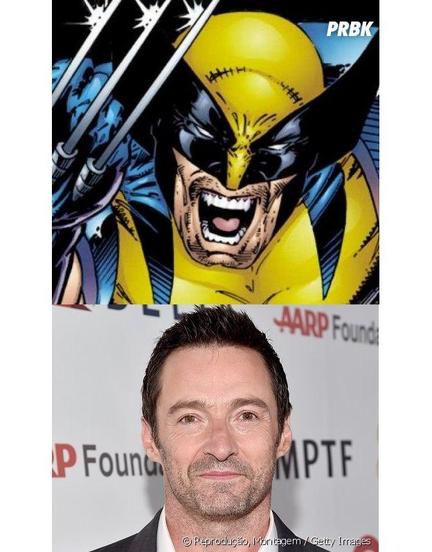 Wolverine e Hugh Jackman têm idades diferentes