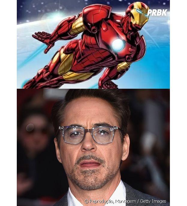 Robert Downey Jr. e o Homem de Ferro têm quase a mesma idade