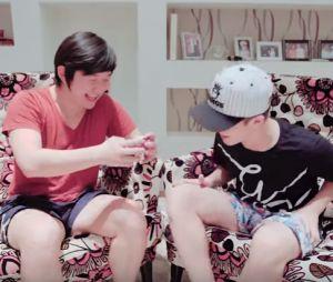 João Guilherme é hipnotizado por Pyong Lee