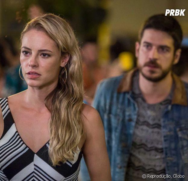 """Em """"A Força do Querer"""": Jeiza (Paolla Oliveira) e Zeca (Marco Pigossi) se separam mais uma vez"""