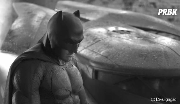 """Ben Affleck caracterizado como Homem-Morcego em """"Batman vs Superman"""""""