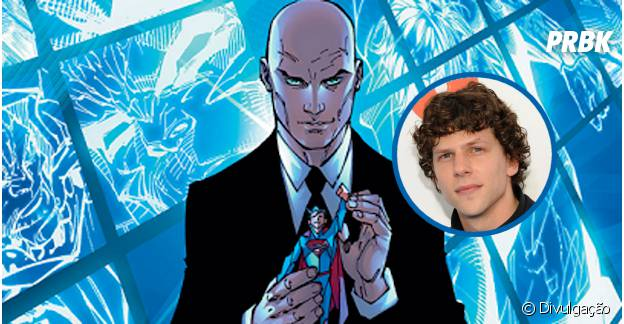"Jesse Eisenberg vai interpretar o vilão Lex Luthor em ""Batman vs Superman"""