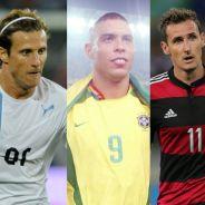 Veja os 10 últimos artilheiros das Copas! Um deles já foi da Seleção Brasileira