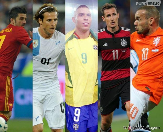 Os grandes artilheiros de Copas do Mundo