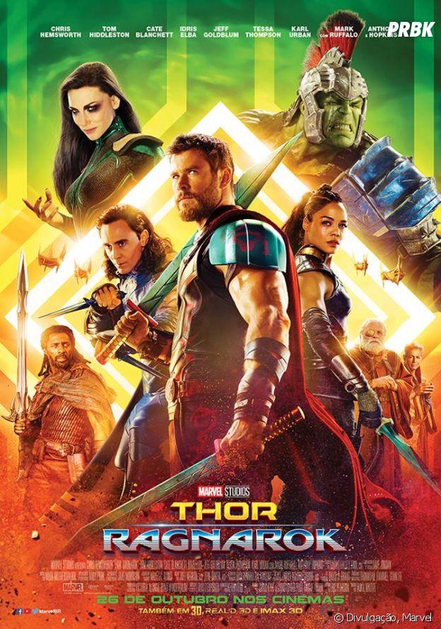 """Confira o novo pôster de """"Thor: Ragnarok"""""""