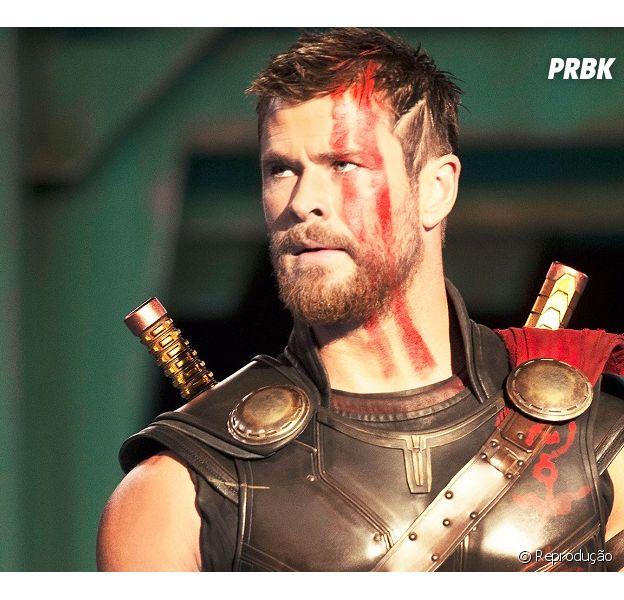 """Em """"Thor: Ragnarok"""", de acordo com a Marvel, o mundo de Thor (Cris Hemsworth) está prestes a explodir"""