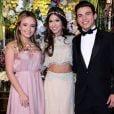 Larissa Manoela e Thomaz Costa no aniversário de 15 anos da Fernanda Concon