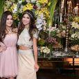 Maisa Silva também marcou presença no aniversário de 15 anos da Fernanda Concon, uma de suas melhores amigas