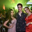 O que falar desse trio no aniversário de 15 anos da Fernanda Concon?