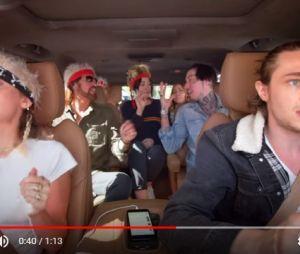 "Miley Cyrus convoca a família para o ""Carpool Karaoke Series"""