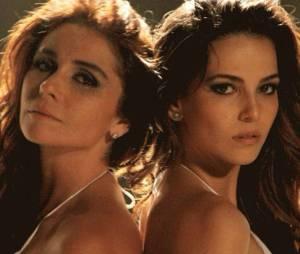 """Na reta final de """"Em Família"""", Clara (Giovanna Antonelli) e Marina (Tainá Müller) curtem noite de núpcias no estúdio da fotógrafa"""