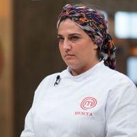 "No ""MasterChef Profissionais"", Berta é eliminada por conta de frago mal feito: ""Amargo e feio"""