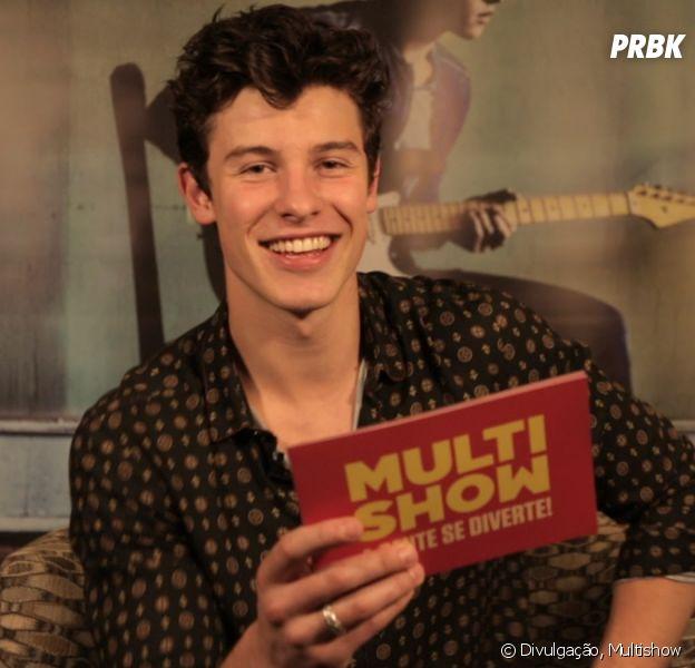"""No """"TVZ"""", Shawn Mendes participa de brincadeiras e apresenta seleção de clipes!"""