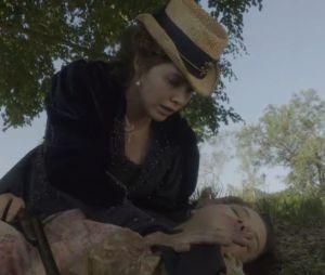 """Em """"Novo Mundo"""", Leopoldina (Letícia Colin) vai ajudar Domitila (Agatha Moreira)"""