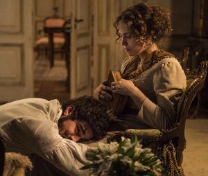 """Em """"Novo Mundo"""" Dom Pedro (Caio Castro) terminou o romance com Domitila (Agatha Moreira) e pediu perdão a esposa Leopoldina (Letícia Colin)"""