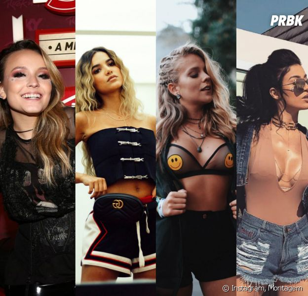 Larissa Manoela, Manu Gavassi, Gabi Lopes e a youtuber Bianca Boca Rosa arrasaram no estilo!