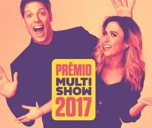 Prêmio Multishow 2017 será apresentado por Tatá Werneck e Fábio Porchat