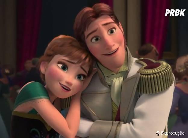 """Anna e Hans começam o filme """"Frozen"""" se apaixonando... Como será que vai ser em """"Once Upon a Time""""?"""