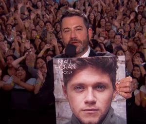 "Niall Horan canta ""Too Much To Ask"" no programa ""Jimmy Kimmel Live"""