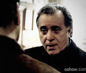 """Braga (Tony Ramos) quer derrubar Angela (Patrícia Pillar) em """"O Rebu"""""""