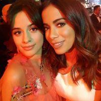 """Anitta e Camila Cabello tiram foto juntas durante encontro e fãs enlouquecem: """"Finalmente!"""""""