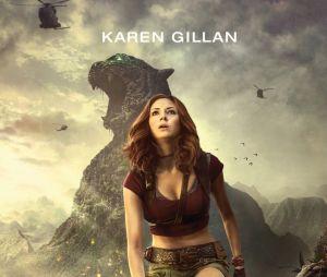 """Em """"Jumanji: Bem-Vindo à Selva"""":Karen Gillan mostrará toda a sua garra"""