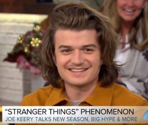 "Joe Keery, de ""Stranger Things"", fala sobre a série no programa ""Today"""