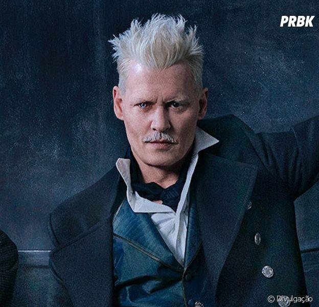 """J.K. Rowling defende Johnny Depp em """"Animais Fantásticos 2 ... Johnny Depp Broke"""