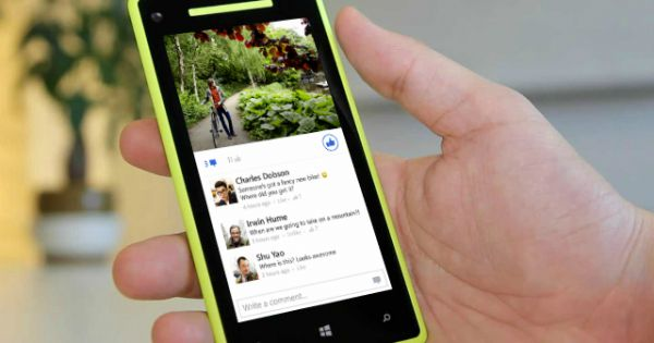 Facebook lan a nova vers o para windows phone seguindo o for O architecture facebook