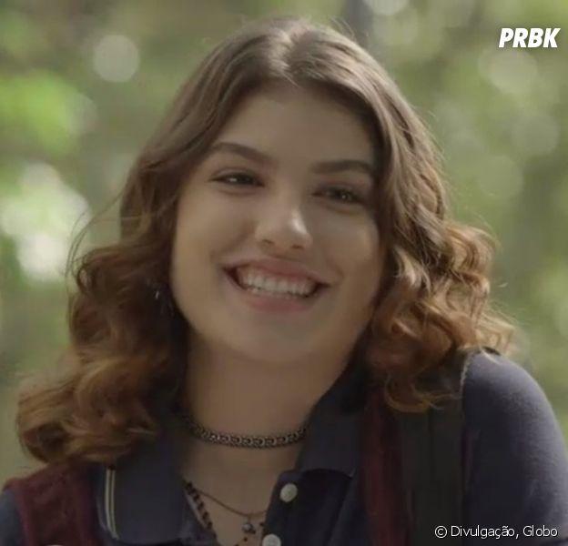 """De """"Malhação"""", Giovanna Grigio fala sobre romance entre Samantha e Lica (Manoela Aliperti)"""