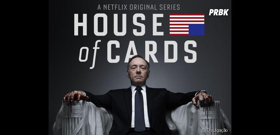 """""""House of Cards"""" é cancelada na 6ª temporada após polêmicas de assédio envolvendo o protagonista, Kevin Spacey"""