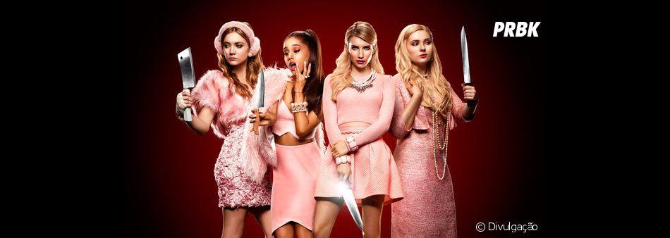"""""""Scream Queens"""" encerrou seus trabalhos na 2ª temporada, sem ganhar um episódio final"""