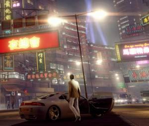 "As luzes de Hong Kong em ""Sleeping Dogs"" remasterizado para HD"