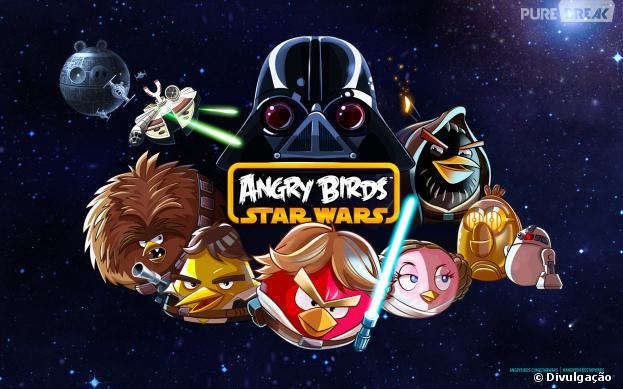 Angry Birds Star Wars é versão mais famosa dentre jogos da série