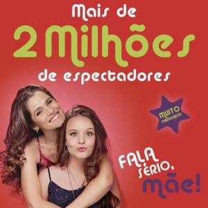 """Larissa Manoela se emociona após """"Fala Sério, Mãe"""" ultrapassar 2 milhões de espectadores!"""