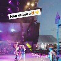 Larissa Manoela ganha declaração de Leo Cidade durante show em Sergipe!