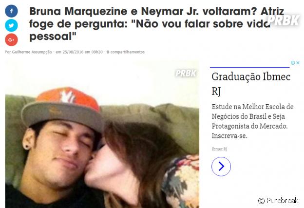 Neymar dá os parabéns a Cavani