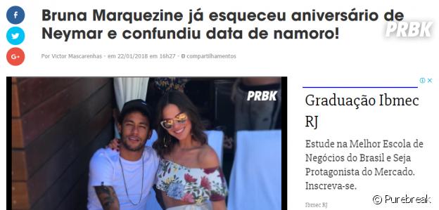 Bruna Marquezine e Neymar voltaram de novo! Qual fase Brumar você é de acordo com seu signo?