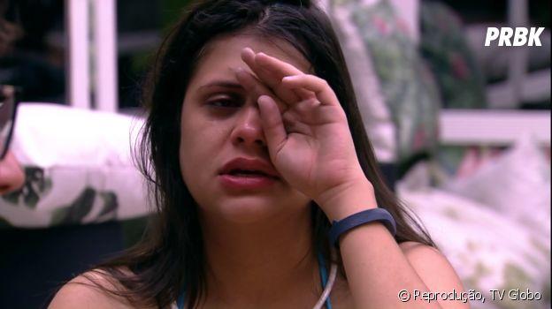 """No """"BBB18"""", Mahmoud indica Ana Paula chora depois de ser indicada ao Paredão pelo líder Mahmoud"""