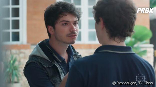 """Em """"Malhação"""",Rafa(Marcelo Arnal) bate emGabriel(Luis Galves) eFelipe, que vão parar no hospital!"""
